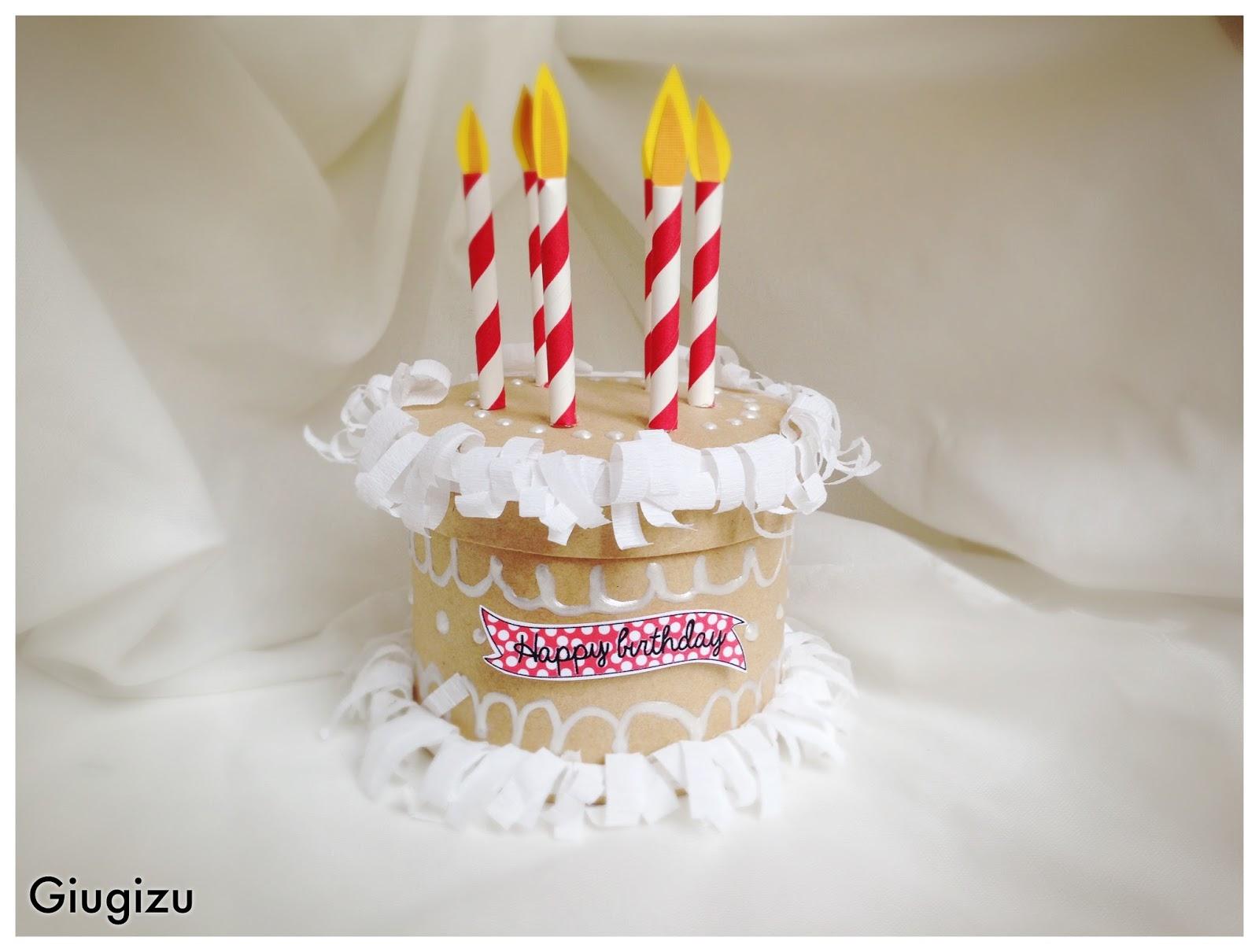 Fabuleux Giugizu's corner: D.I.Y. 3D Cake pop-up card - Biglietto fai da te  PH99