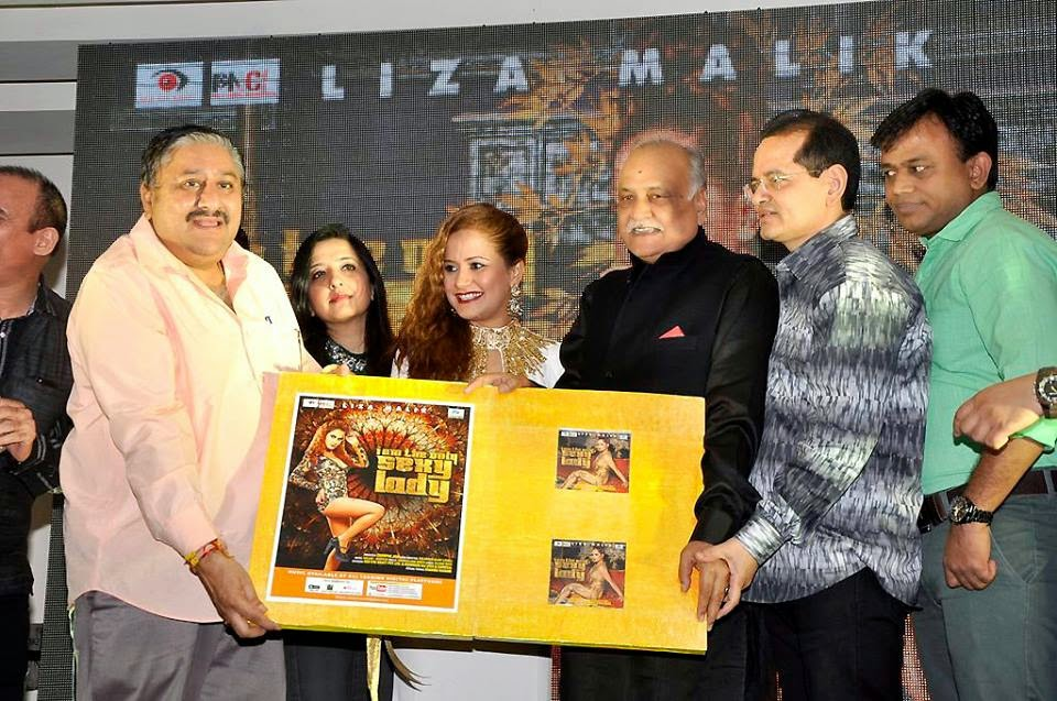 Liza Malik unveiled her album 'I Am the Only Sexy Lady'