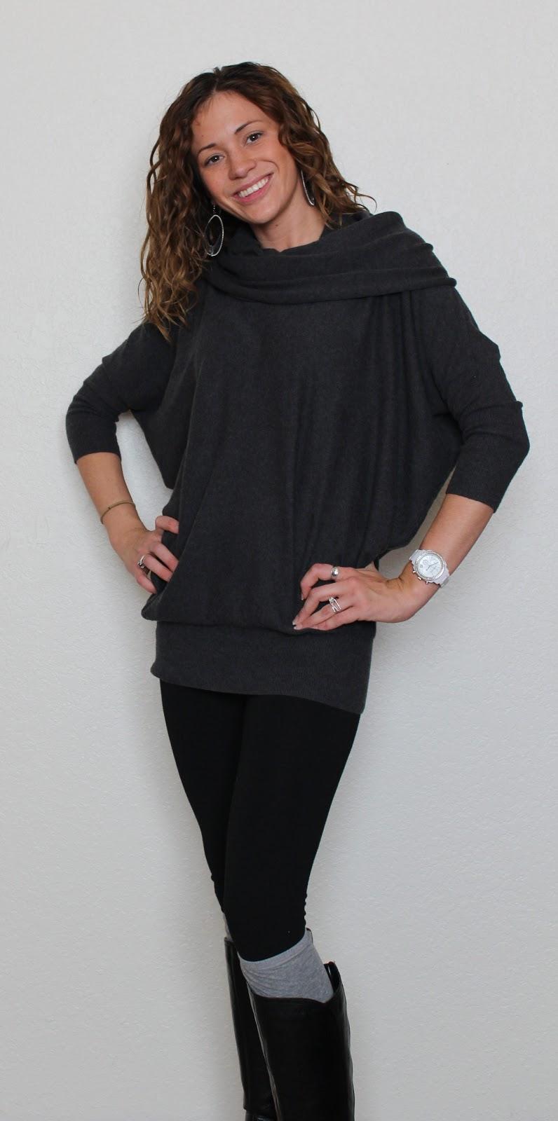 Eat Pray Wear Love: Wear Wednesday: Cowl Neck Sweater