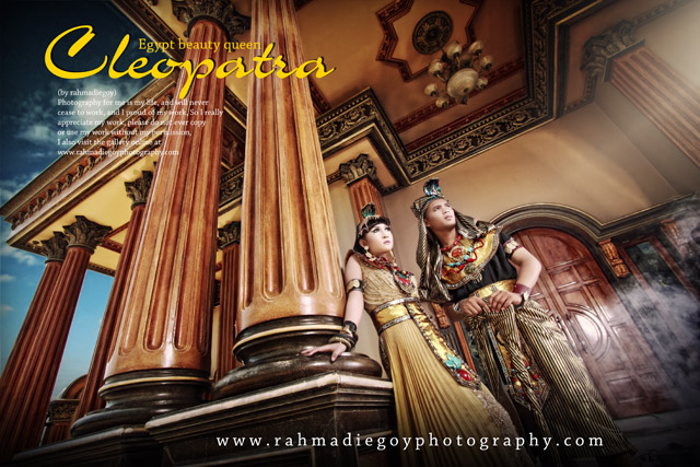 foto prewedding tema cleopatra egyptian beauty queen 2