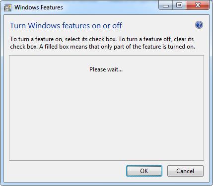tampilan windows fitur di win7
