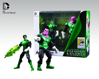 San Diego Comic-Con 2012 Exclusive Green Lantern DC Collectibles Action Figure 2 Pack - Kyle Rayner & Kilowog