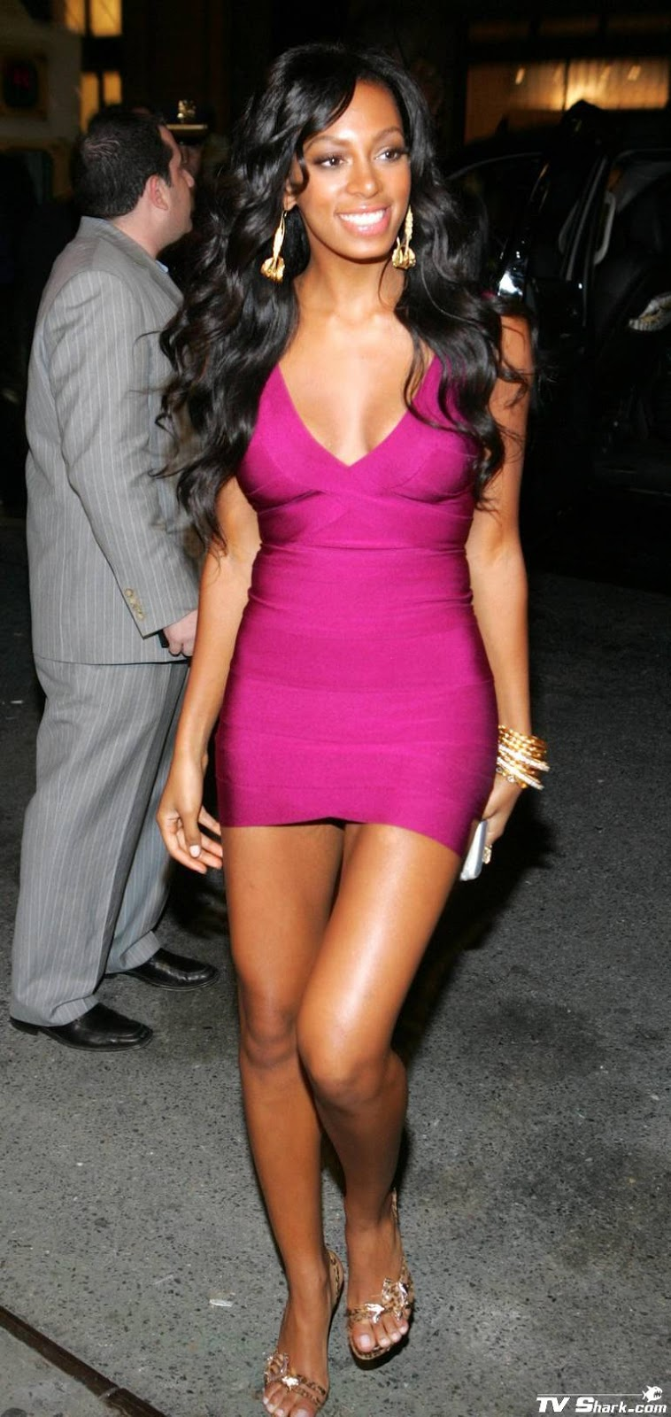 Herve Leger Sightings: Solange Knowles at the 2006 MTV Video Music ...
