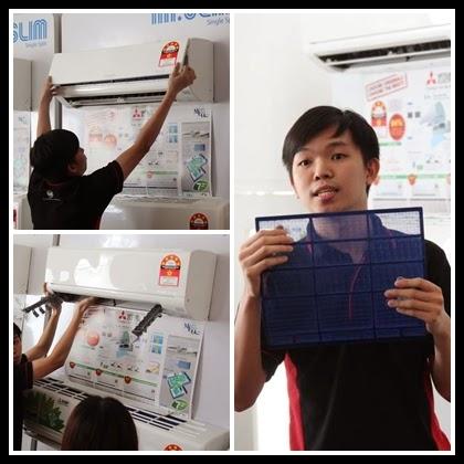 Maintenance Air Conditioner Mitsubishi Electric