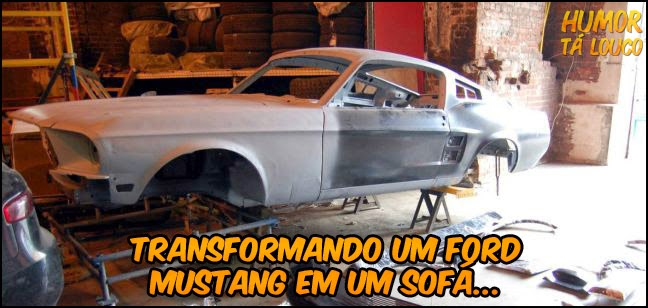 Ford Mustang sofá