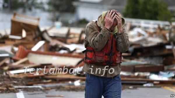 Foto Korban Badai Sandy