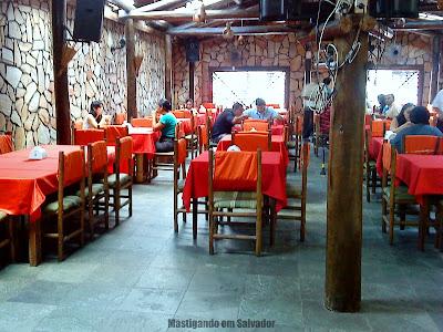Bambu Chalé: Ambiente