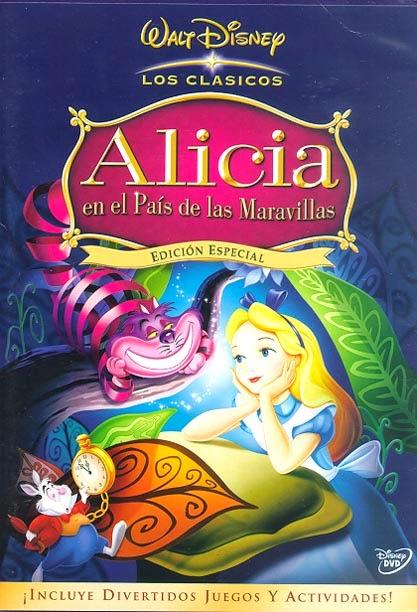 Alicia en el Pais de las Maravillas 1951 DVDrip-Avi Clasicos Disney Latino [MEGA]