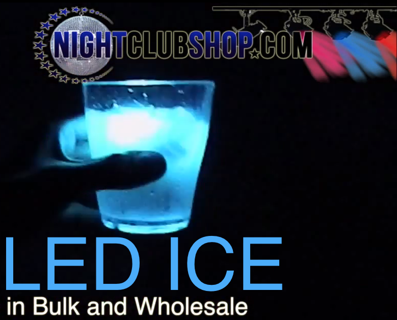 led ice cubes wholesale water activated led ice cube hottest