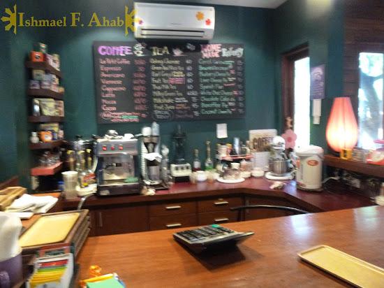 Inside Le Petit Cafe, Chiang Rai