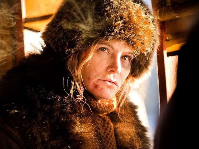 "Jennifer Jason Leigh in ""The Hateful Eight"""