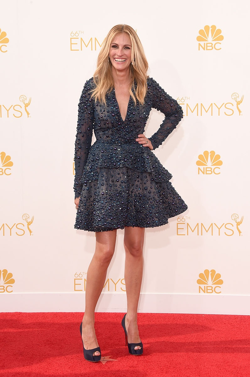 66th Emmys- Julia Roberts in Elie Saab Couture