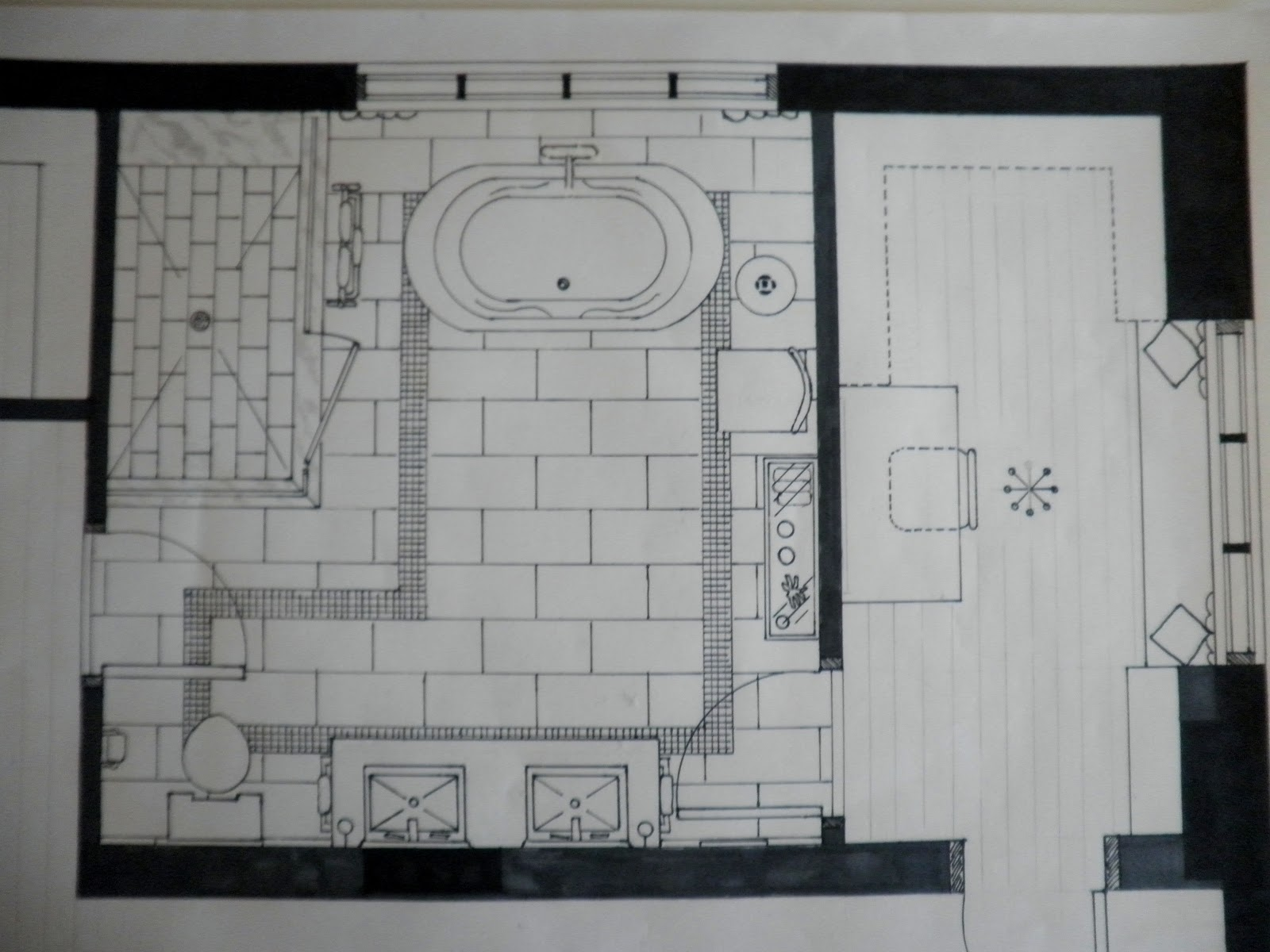 bathroom project - Design Your Own Bathroom Layout