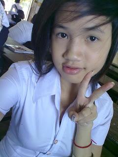 Youko Saki Lin Facebook Cute Girl Student Uniform Photo 10