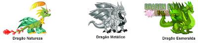 Cruzamento - Dragão Esmeralda