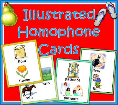 Homophone Flashcards