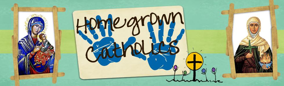 Homegrown Catholics' Lesson Plans