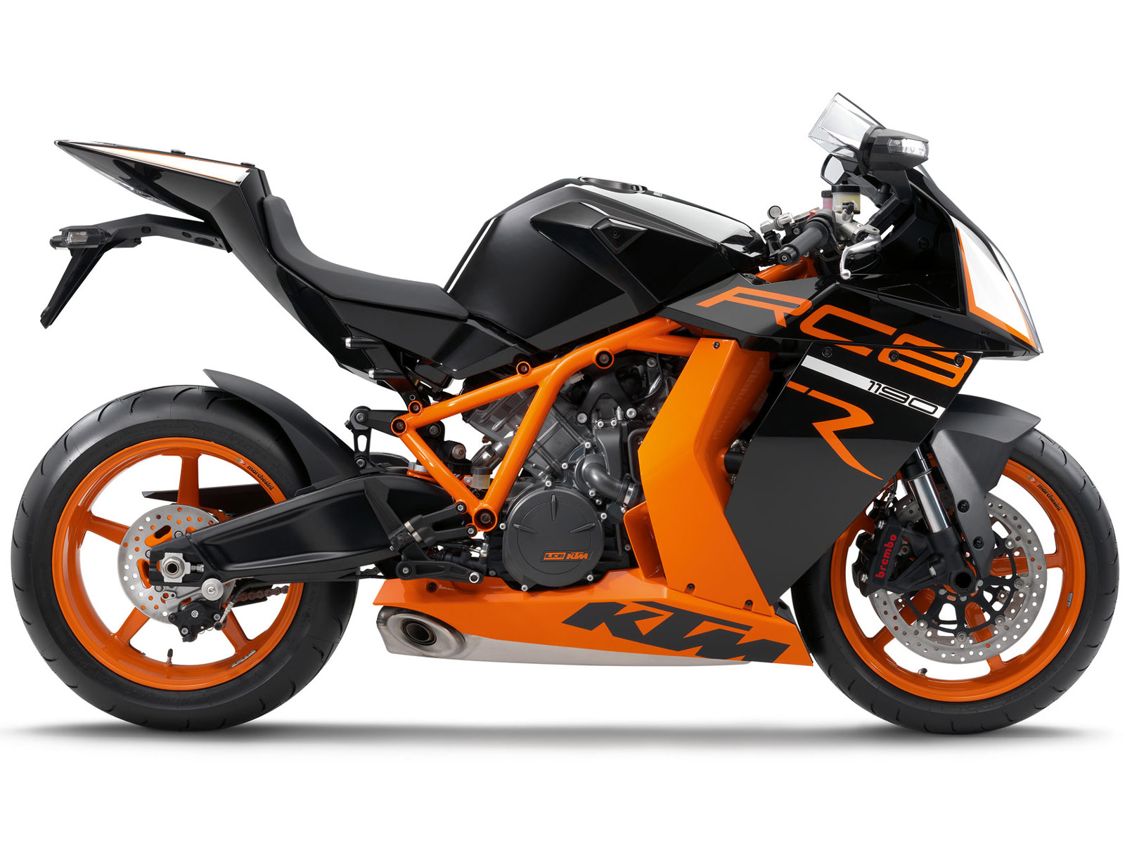 2012 KTM 1190 RC8R | KTM motorcycle wallpaper |