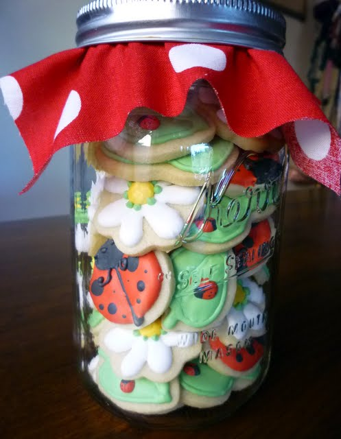 Ladybugs In A Jar