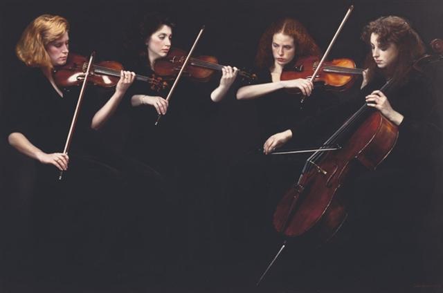 Yifei Chen con String quartet