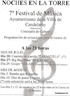 Presentacion del grupo Velaí en Candelario Salamanca