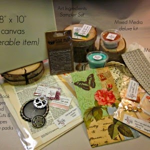Mixed Media, Kit, Kit of the Month, Craft Kit, Paper Arts Kit