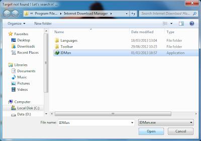 open file IDMAN