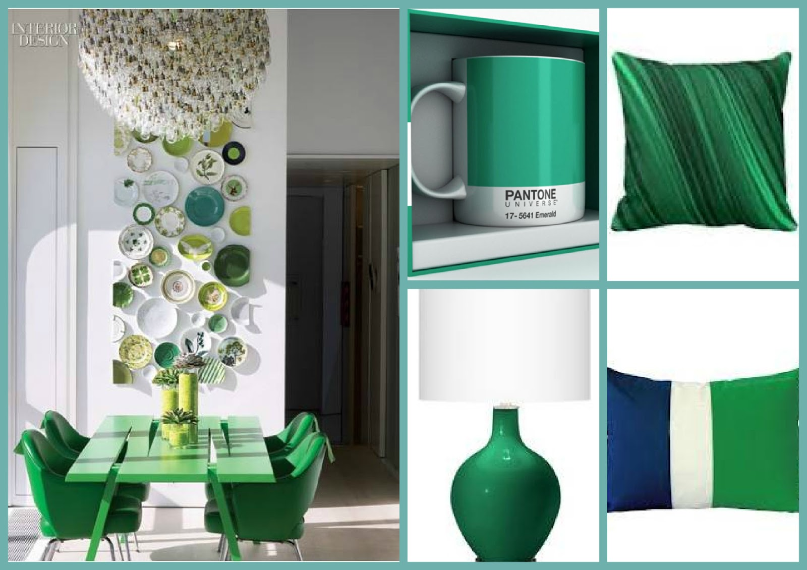 Key interiors by shinay 2013 color of the year emerald for Benjamin moore color of the year 2013
