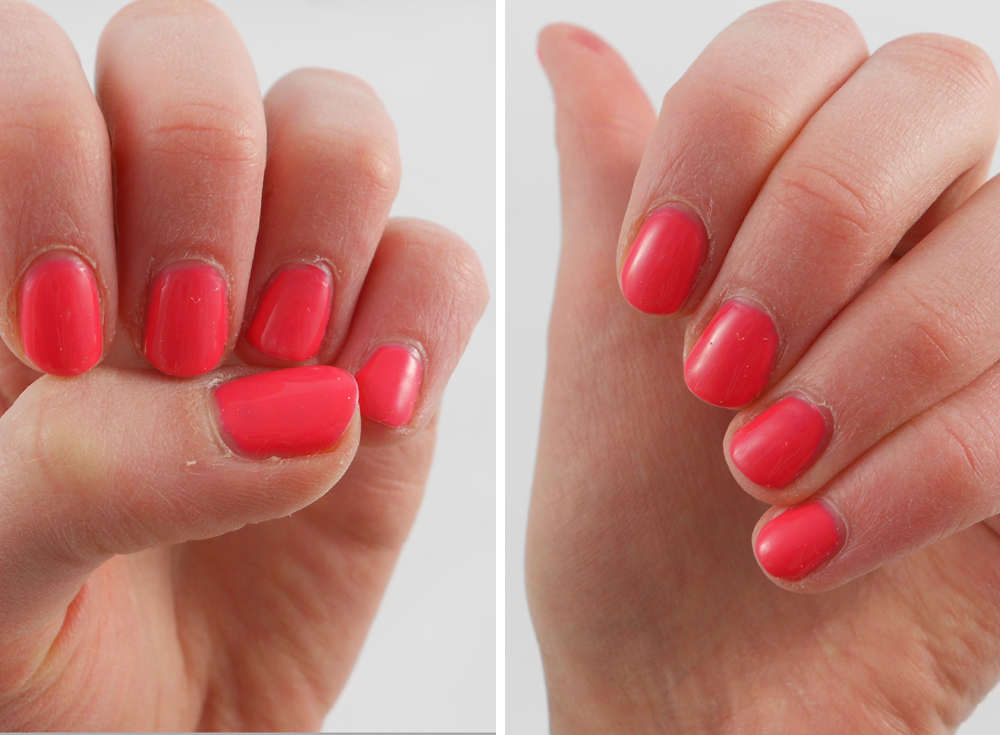 NOTD and Review: Shellac Nails in Tropix