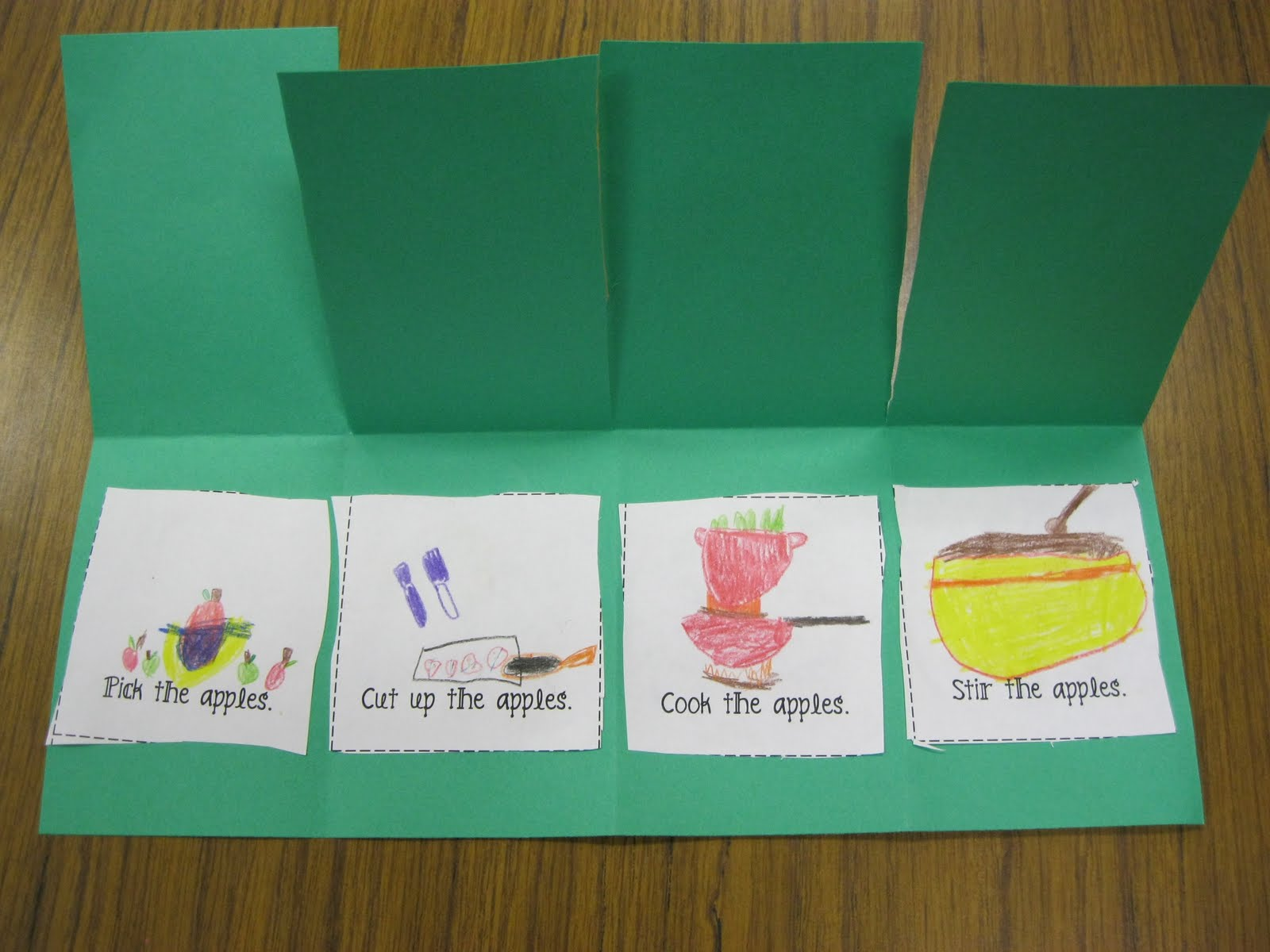 Making Applesauce Worksheets : First grade fanatics a week of apples