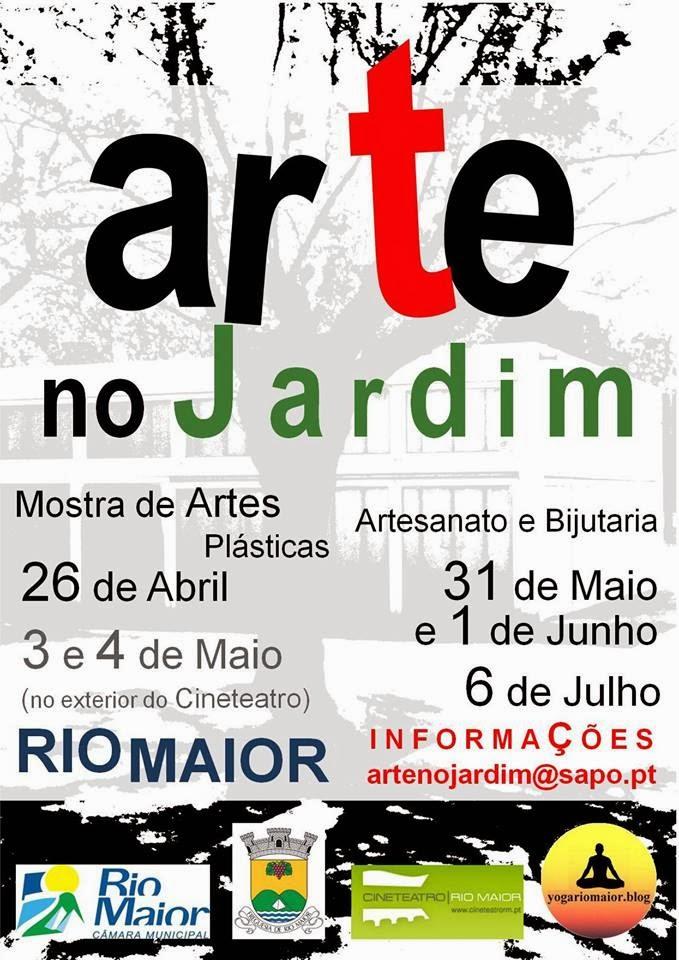 Arte no jardim -Rio Maior