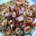 Calamari mit mediterranem Couscous