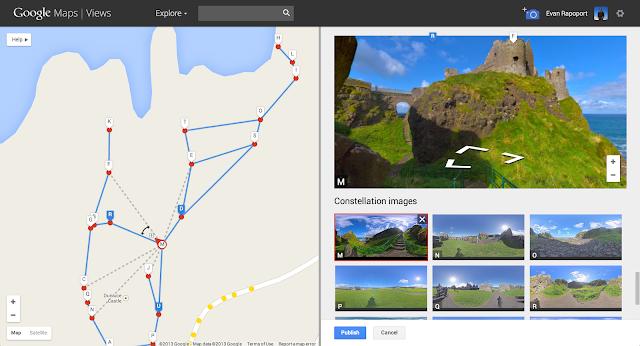製作個人街景(Google 地圖)