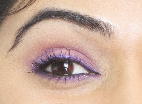Pink and Purple Eye Makeup Tutorial