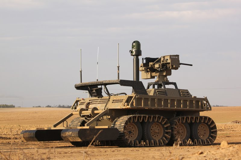 AvantGuard Unmanned Ground Combat Vehicle