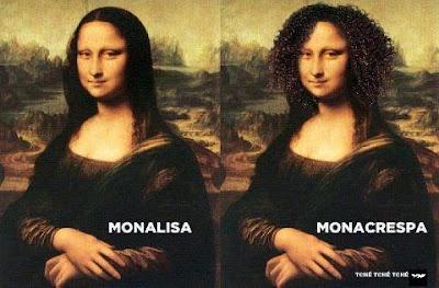 Mensagens engraçadas e imagens para facebook Monalisa