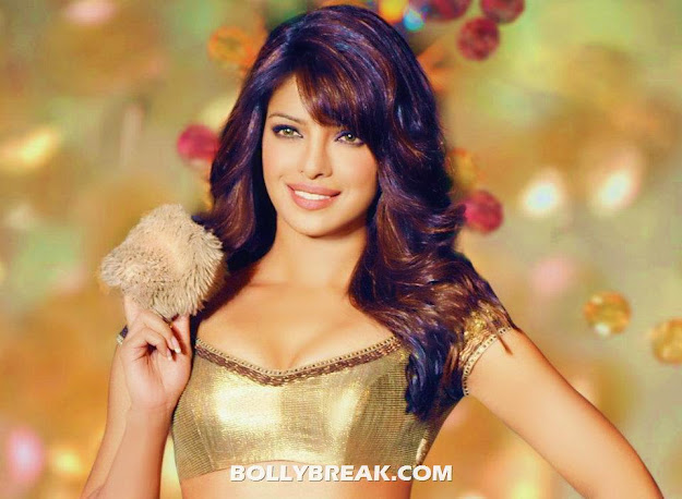Priyanka chopra in golden bikini bra - Priyanka chopra Golden Bikini Bra Wallpaper