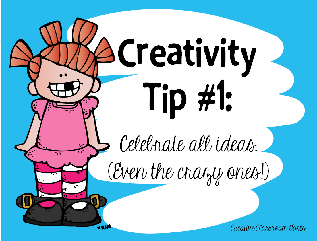 Creativity in the Classroom - creative classroom tools