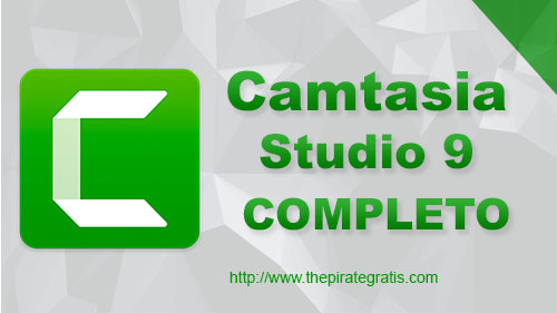 Camtasia Studio 9 + Crack Completo via Torrent