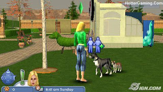 Free Download The Sims 2 Pets Psp Game Photo