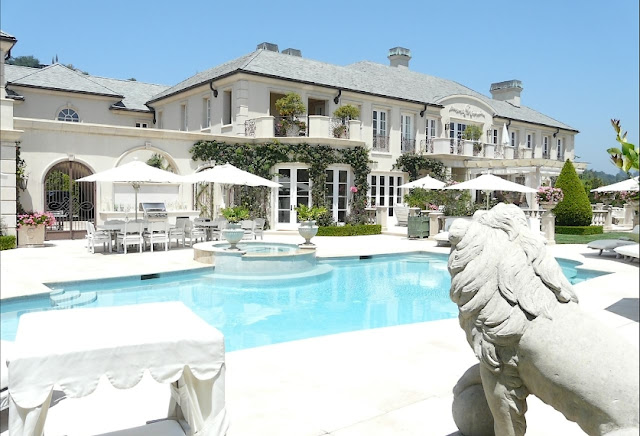 Lisa Vanderpump - Luxury French Chateau in Beverly Hills, CA.