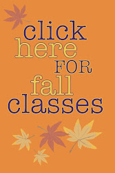 fall classes at camp cactus