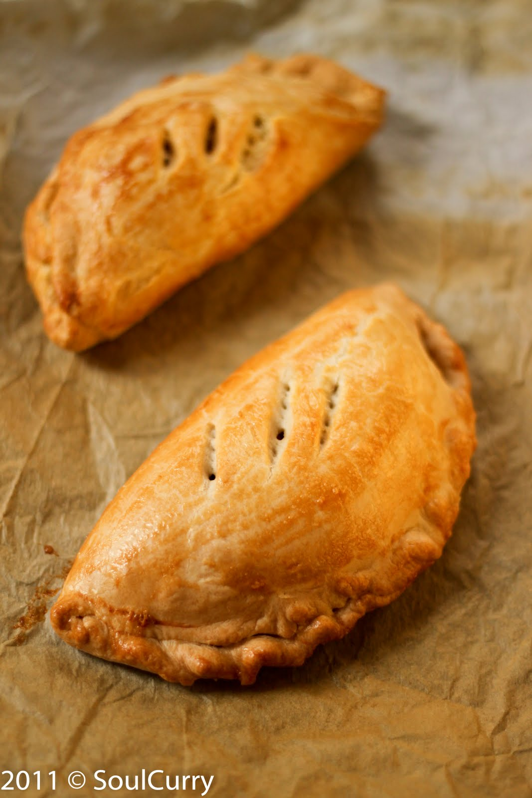 Cornish Pasty (Veggie)