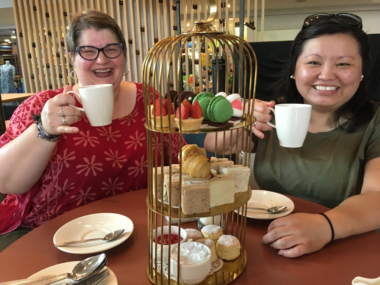 Park Royal, Afternoon Tea (jasmine tea), Batu, Malaysia, 2019