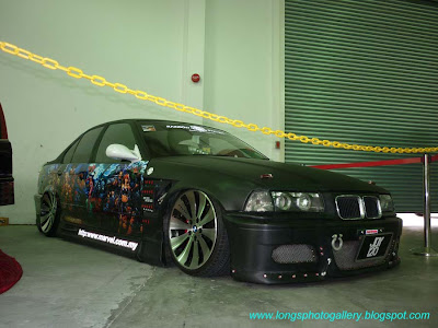 Modified BMW E36