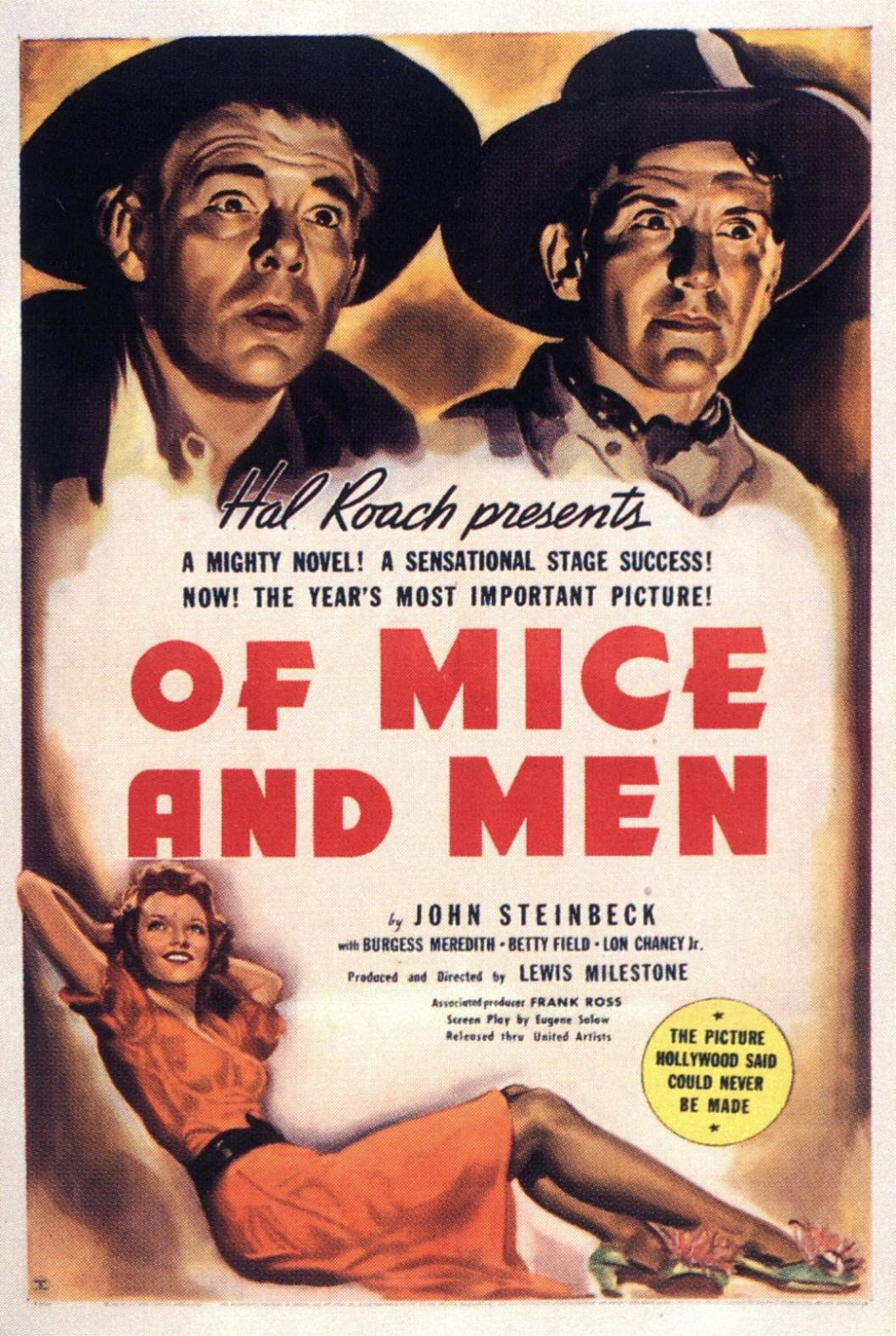 A March Through Film History Of Mice and Men 1939