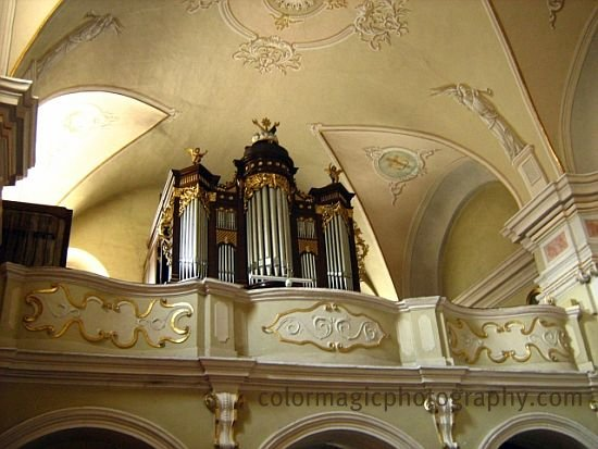 The organ-Franciscan Church Cluj