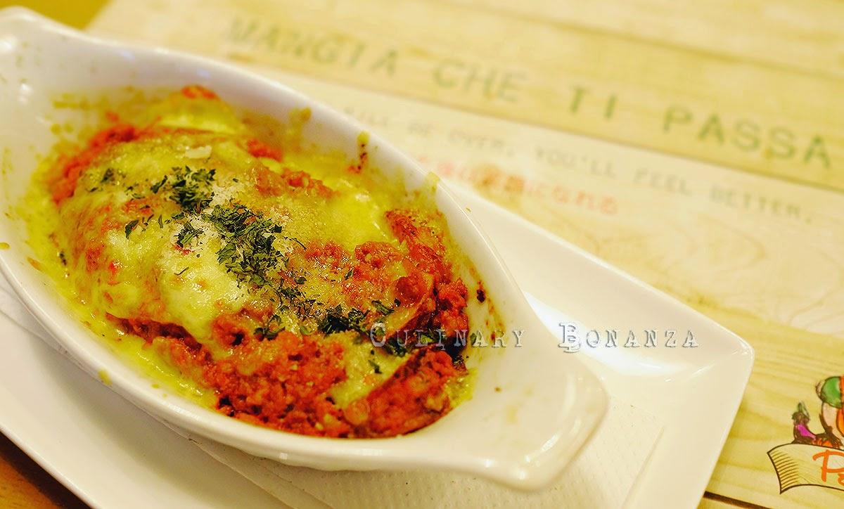 Bolognese Potato Gratin