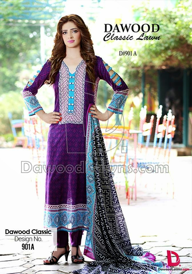 Dawood Classic 2015 Lawn Collection
