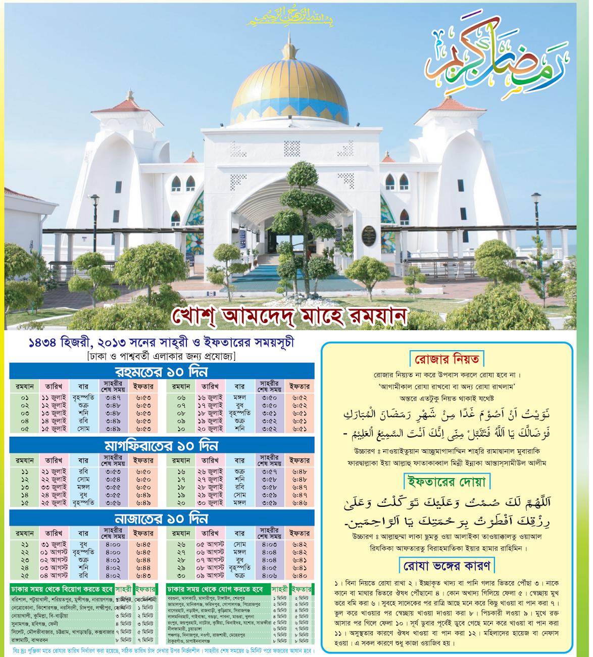 Kalendar islam atau dikenali sebagai takwim hijrah atau takwim islam pula adalah kalendar lunar digunakan